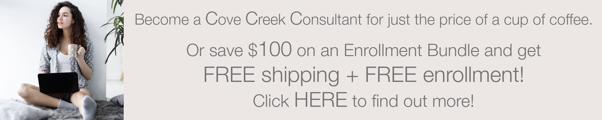 Become a Consultant for Cove Creek