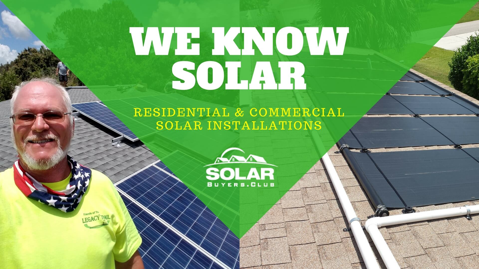 We know solar electric, solar hot water, solar pool heating for your home or business.